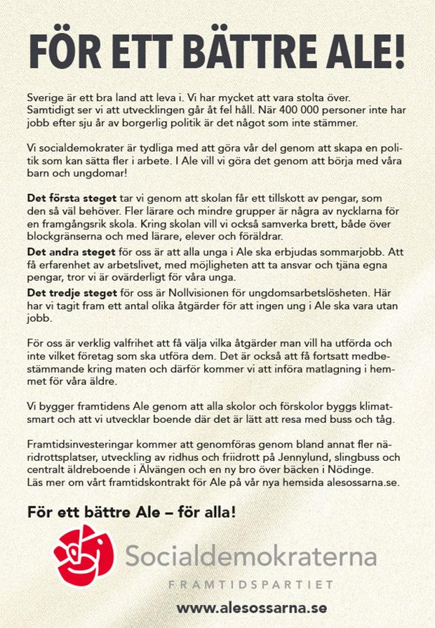 Framtidskontrakt Socialdemokraterna i Ale-2